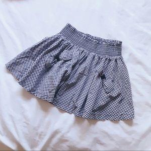 asos gingham skirt